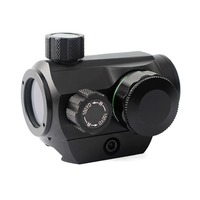 Red Dot Scope Sight Battery Operated Adjustable Metal Hunting Optics