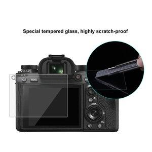 Image 4 - PULUZ 1pc 9H szkło hartowane ochrona ekranu LCD Film nadaje się do Sony ILCE 9 A9 A6000/A6500 RX100/A7M2/A7R/A7R2 kamera