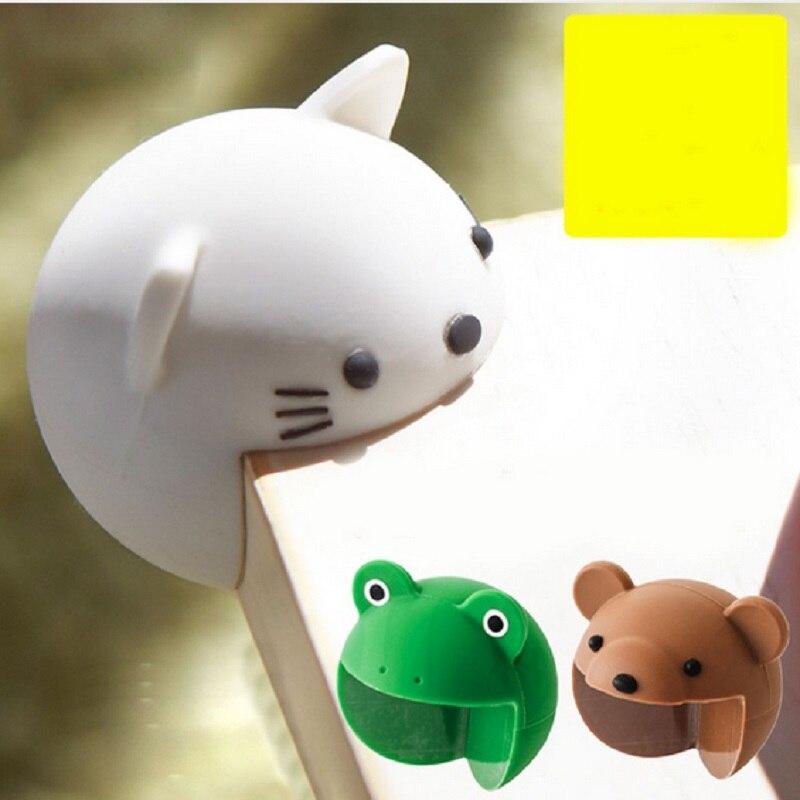 4 stks/partij 3D Leuke Siliconen Baby Veiligheid Meubels Corner Guards Zachte Cartoon Kind Veiligheid Tabel Desk Corner Protector Edge Cover