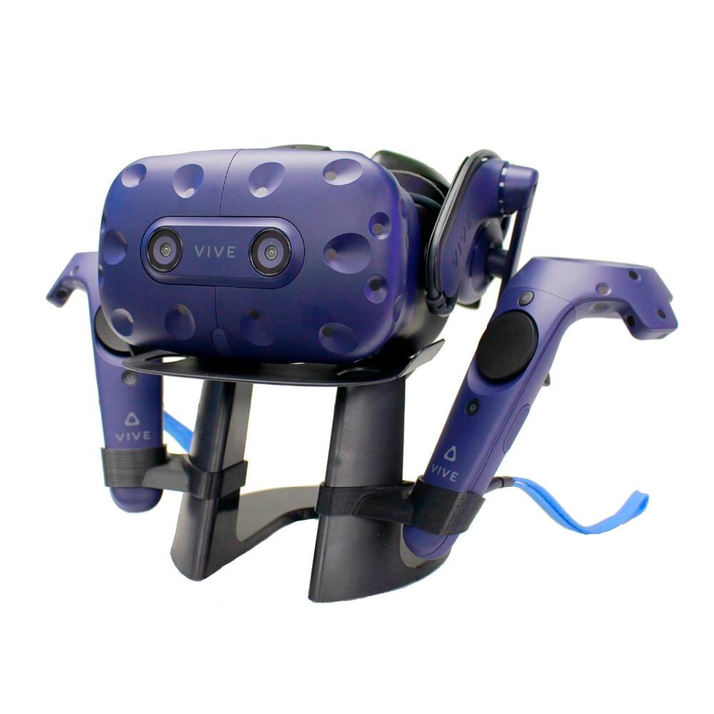 Nouveau Top réalité virtuelle 3D verre casque affichage Station jeu contrôleur titulaire pour HTC Vive casque ou HTC Vive Pro casque