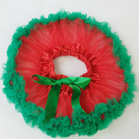 Free Shipping Red Green Infant Baby Skirt Apparel Baby Tutu Skirts Infant Pettiskirts Infant Dresses Up