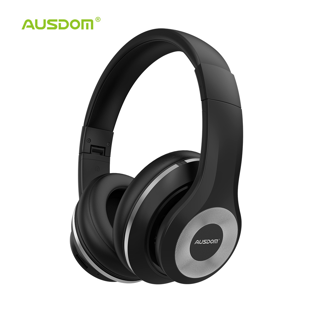 Ausdom ANC10 V5.0 Active Noise Cancelling Wireless Headphones 22H Playtime Foldable Bluetooth Headset With Mic for Work TravelAusdom ANC10 V5.0 Active Noise Cancelling Wireless Headphones 22H Playtime Foldable Bluetooth Headset With Mic for Work Travel