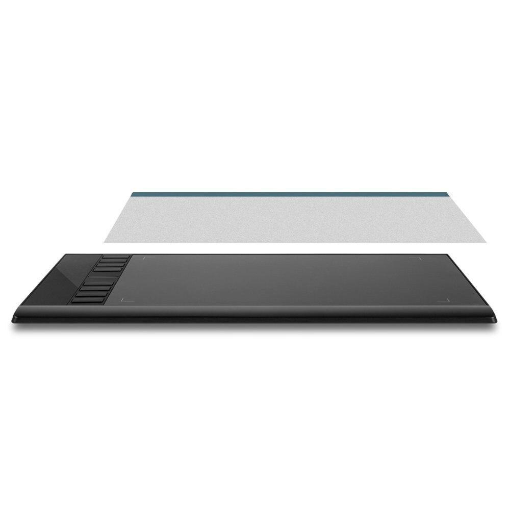 Şeffaf Flim için Ugee M708 Grafik Tablet
