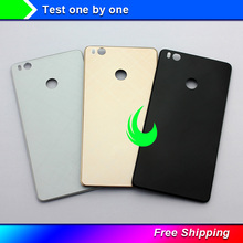 цена на New For Xiaomi 4S Back Housing Cover Case Back Battery Cover For XIAOMI Mi 4S Rear Door Back Cover Replacement
