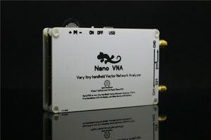 Image 2 - 2.8 inch LCD NanoVNA VNA HF VHF UHF UV Vector Network Analyzer Antenna Analyzer + PC Software + Battery