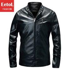 Hot new  Mens Leather Jackets And Coats,Jaqueta De Couro Men's Motorcycle Jacket,Korean Fashion Men Leather Jacket Size M-XXXL
