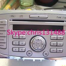 Один CD-диск радио CD1053 9M5T-18C939-JK с MP3 USB для автомобиля ford cd-плеера