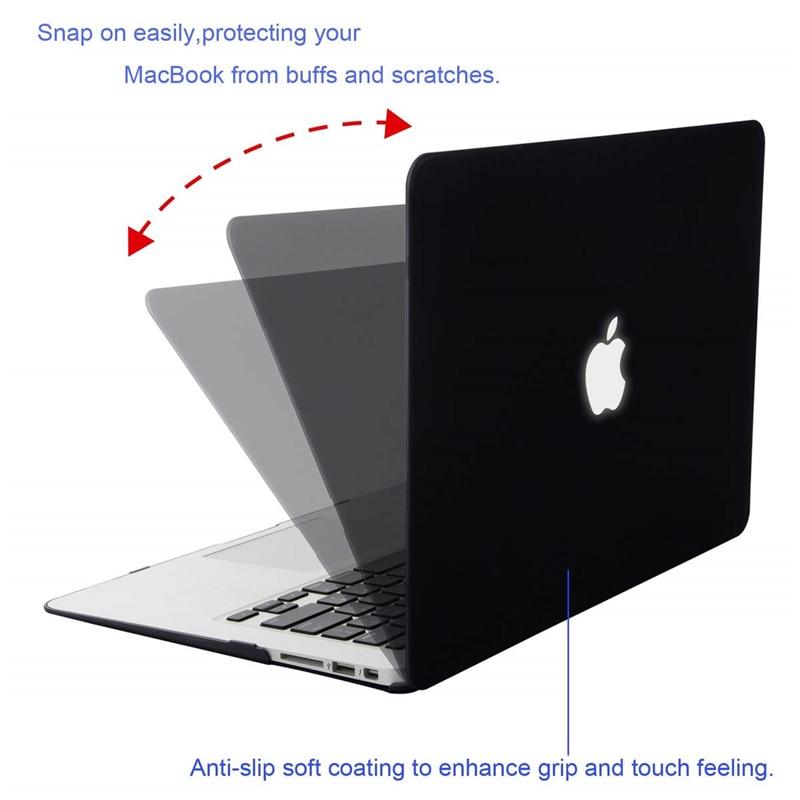 Image 4 - MOSISO матовый чехол для ноутбука MacBook Pro 13 retina 13,3 15,4 чехол для ноутбука Mac Book New Pro 13 Pro 15 дюймов с сенсорной панелью-in Сумки и чехлы для ноутбука from Компьютер и офис