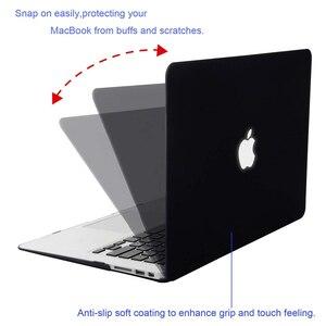 Image 4 - MOSISO Matte Laptop Case Voor MacBook Pro 13 Retina 13.3 15.4 Notebook Cover voor Mac Boek Nieuwe Pro 13 Pro 15 inch met Touch Bar