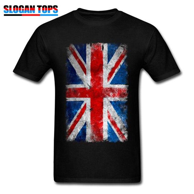 8e61a90f1 British Flag Tshirt Men Union Jack Tshirts Print Vintage Shirts Guys O Neck  T-Shirt Summer Tees Short Sleeve New Cotton Clothing