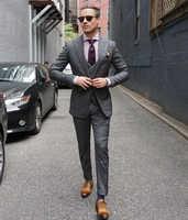Normale dünne fit 2017 Männer Anzug Kostüm Homme Formale Geschäfts herren Blazer Anzug Herren-anzüge Hochzeit Bräutigam (jacke + hosen + weste + tie)