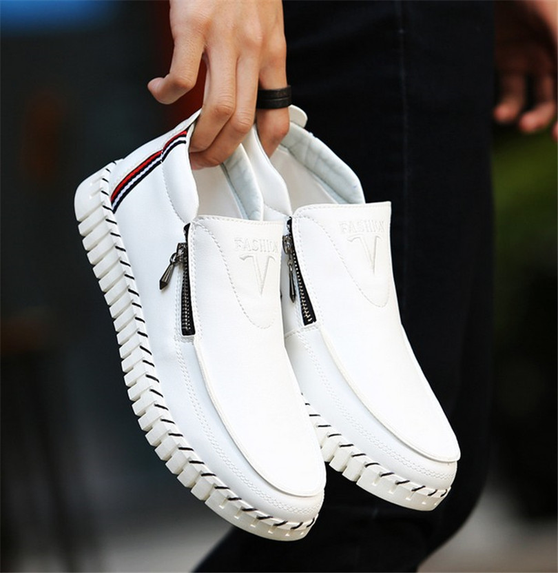 2016 spring and summer men s shoes to help low tide men s fashion casual zipper