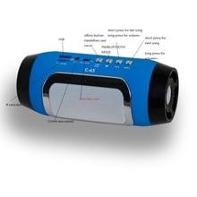 TOPROAD HIFI Portable wireless Bluetooth Speaker