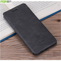 For Xiaomi Redmi 4X Cover Flip PU Leather Case Mofi Original High Quality Book Style Cell