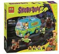 Bela 10430 Scooby Doo Mystery Machine Bus Building Block Toys with lepin 75902 Christmas gift P029