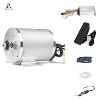 60V 2500W E bike Conversion Kit EBike Electric Bicycle Front Rear Motor Wheel with Pedal 18MOS Brushless Controller E TRICYCLE