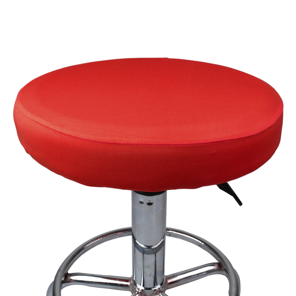 Round Stool Chair Covers for Bar Stools Seat Elastic Seat Cover Home Chair Slipcover Protector Seat Covering for Bar Stools Seat
