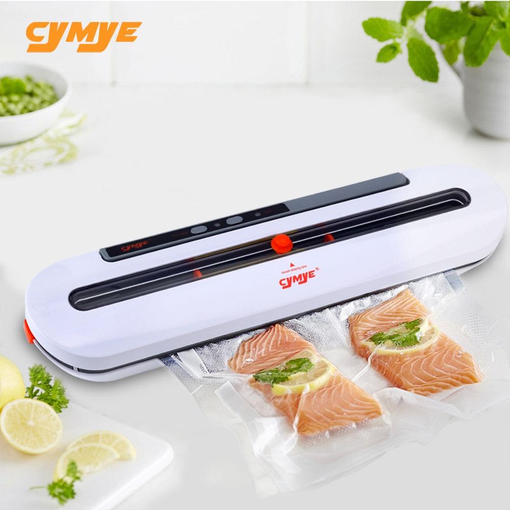 CYMYE Vide Scellant Machine D'emballage QH02 220 v y compris 10 pcs sac peut être utilisé pour food saver Sous Vide