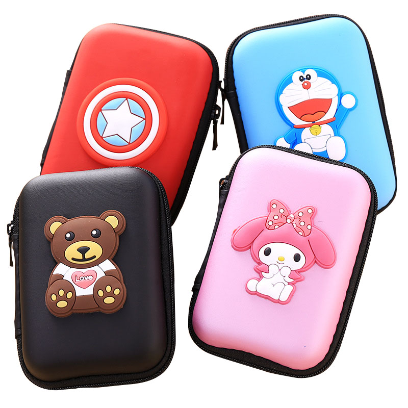 Earphone Bag Headphone Box Case Earbud Card Carrying Hard Pouch Storage Case