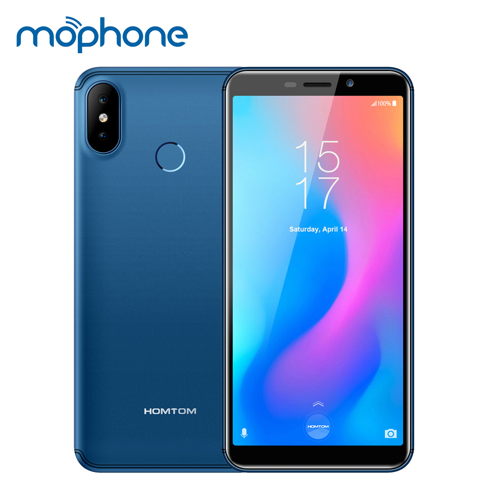 HOMTOM C2 5 5inch 2GB 16GB 3000mAh 18 9 Face ID 4G LTE Mobile Cell Phone