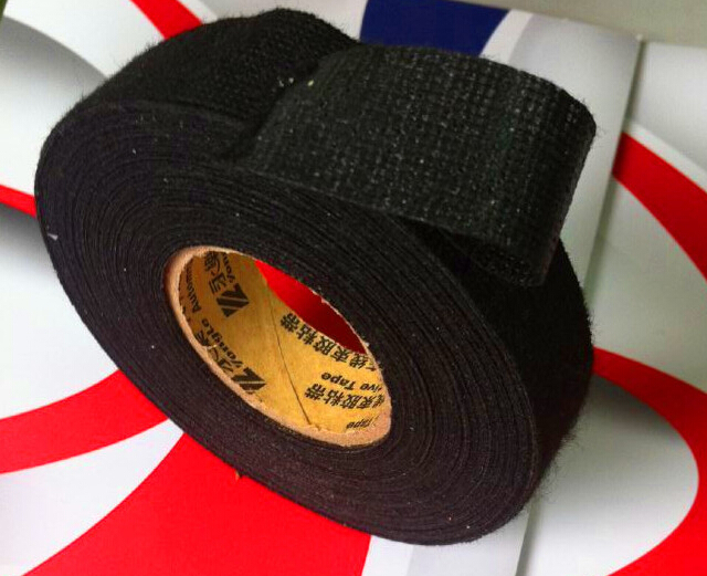 25mmx15m Tesa Coroplast Adhesive Cloth Tape for Cable Harness Wiring Loom car wire harness tape Hot online shop 25mmx15m tesa coroplast adhesive cloth tape for cable cloth wiring harness at gsmx.co