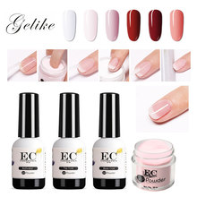 Gelike Dipping Powder Manicure  Colors Hot Sale Dip Glitter Dust Pigment Nail Art