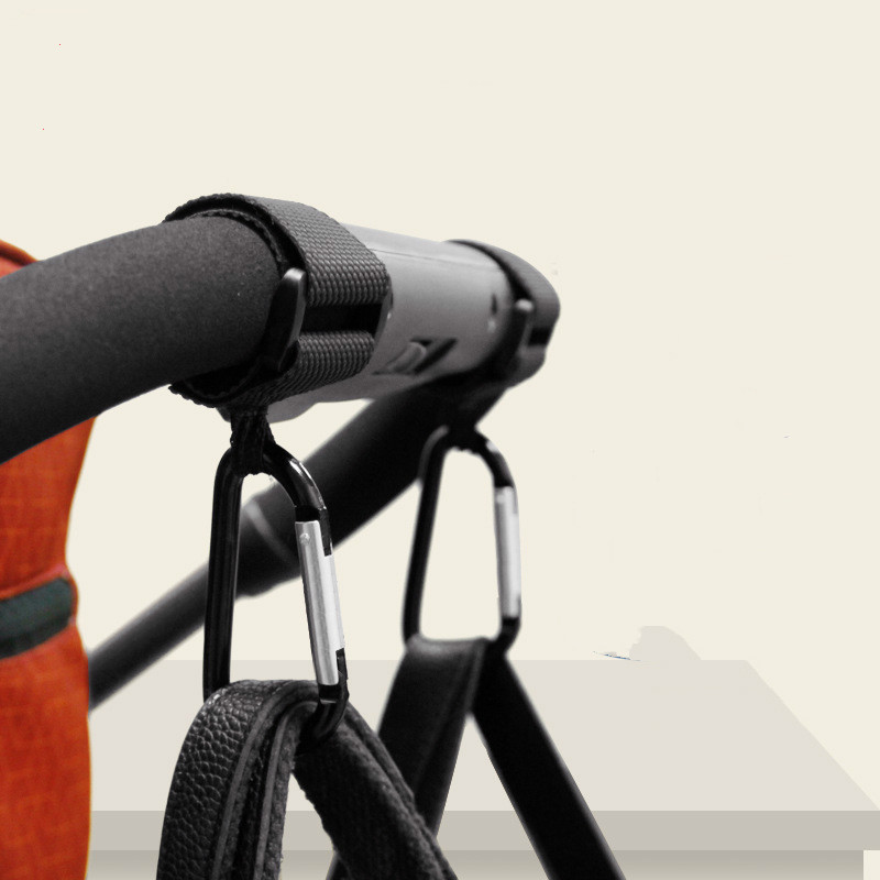 1pcs Baby Stroller Accessories Multipurpose Baby Stroller Hook Outdoor Shopping Pram Hook Props Hanger Metal Convenient Hooks