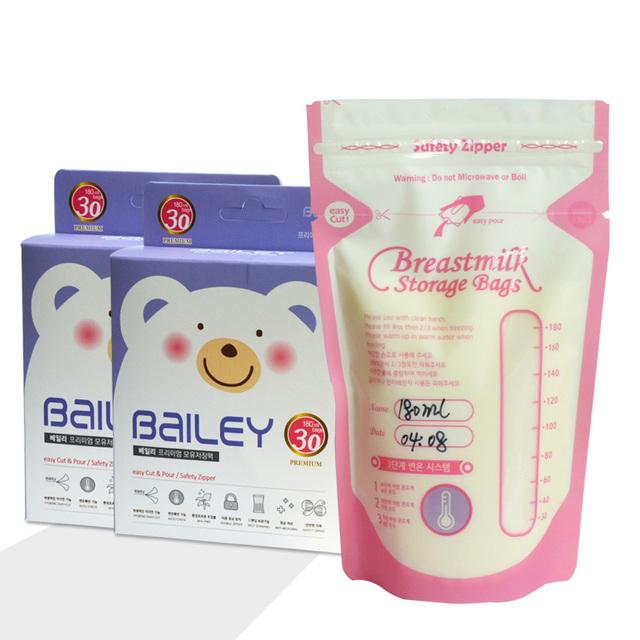 Korean Breast Milk Storage Bags 100ml/180ml/200ml