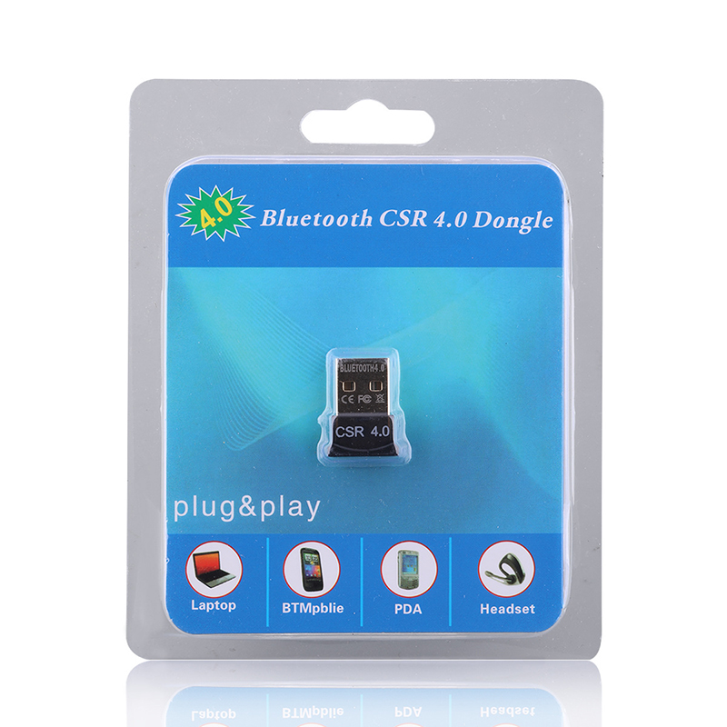 2018 Auto Parts Bluetooth Adapter Converter CSR Chip Double Mode Transport Bluetooth Receiver 4.0 Car Kit Desktop Computer USB