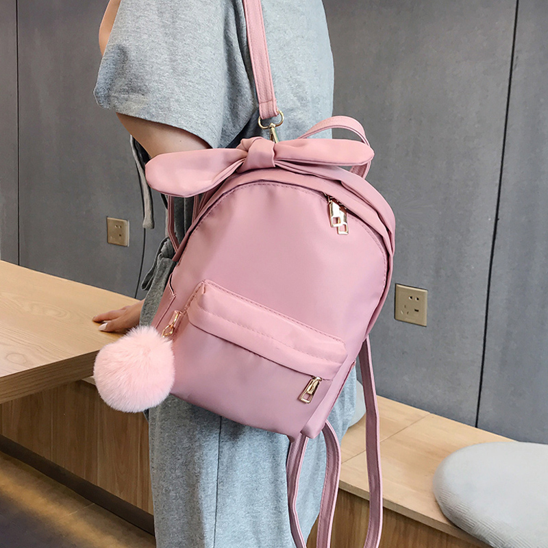 Fashion 2019 Backpack Women Preppy School Bags for Teenagers Backpack Female Nylon Travel Bags Girls Bowknot Backpack MochilasFashion 2019 Backpack Women Preppy School Bags for Teenagers Backpack Female Nylon Travel Bags Girls Bowknot Backpack Mochilas