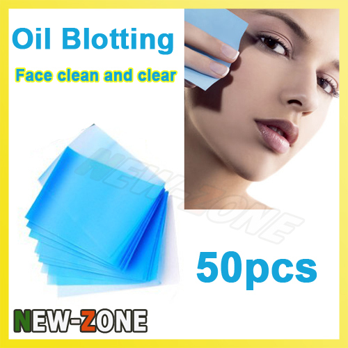Facial oil blotting papers