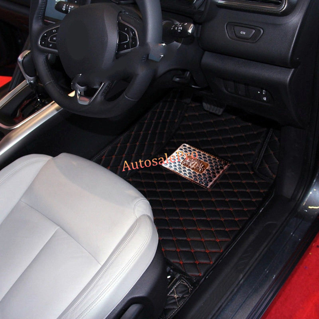 Right Left Hand Drive Interior Front Rer Car Floor Mat Carpets Pad Cover For Renault