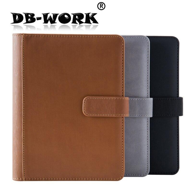 2019 A5 högkvalitativa kommersiella kontor notebook dagbok handbok pappersvaror kan anpassas till konto rekordblad