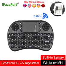 Original Wireless Mini Keyboard i8 with Touchpad Russian Spanish French English Version For Mini PC Smart TV IPTV Android TV Box все цены
