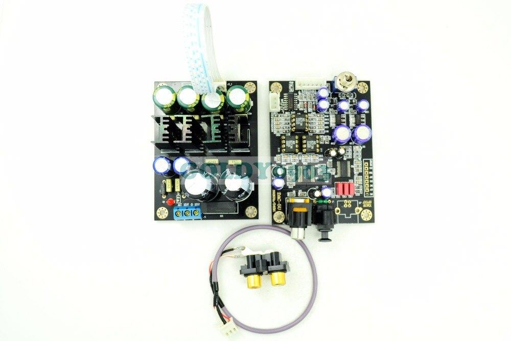 bilder für LM2 CS8416 + PCM1798 24Bit/192 KHz DAC + NETZTEIL Digital Audio Kompresse Decorder