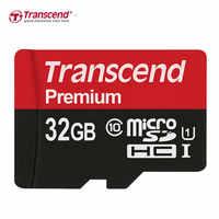 Transcend cartão de memória micro cartão sd 64 gb 32 gb 16 gb cartão de memória de alta velocidade 90 mb/s UHS-I cartão microsd sdxc sdhc
