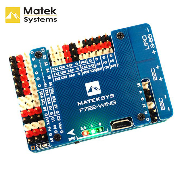 Matek Systems F722-WING STM32F722RET6 Flight Controller Built-in OSD for RC Airp