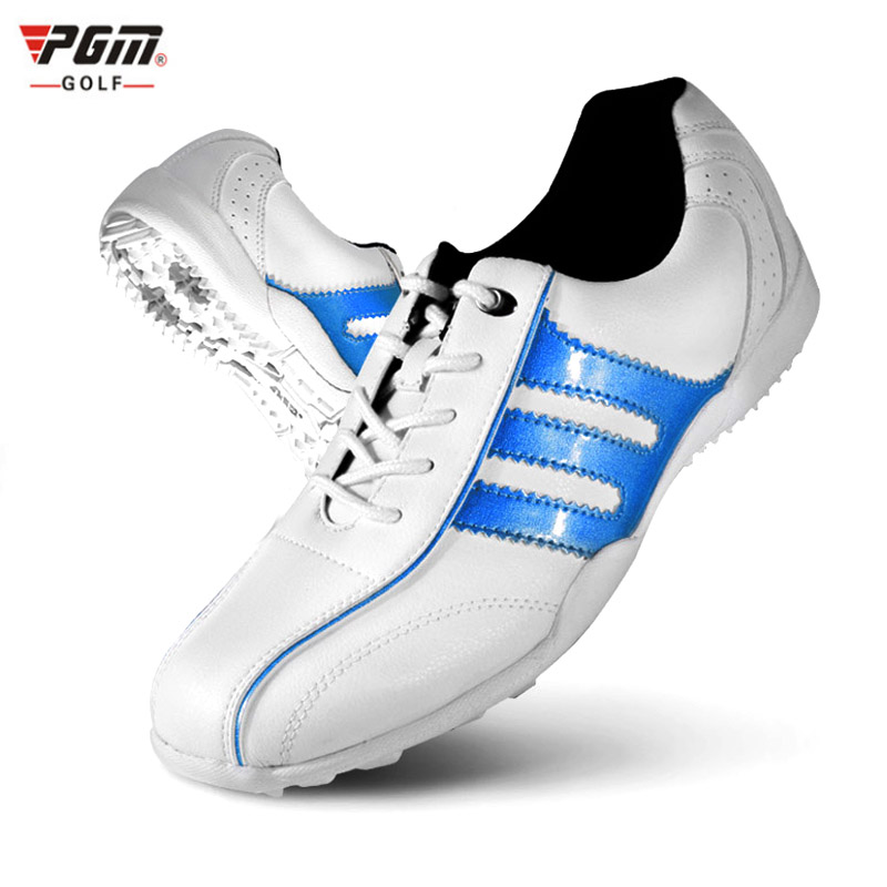 2018 Zapatos De Golf Para Hombre Pgm Brand New Genuine Women Golf Shoes Slip Resistant Sneakers Wear Sports Hot Sale Outdoor 2018 real zapatos de golf para hombre authentic japanese golf shoes male breathable sneakers slip outdoor men hot sale top16001
