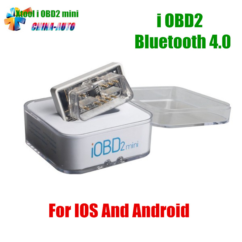 50pcs/lot Original IOBD MINI Bluetooth OBD2 Interface Works On Android/IOS XTool IOBD2 MINI Better than ELM327 DHL Free