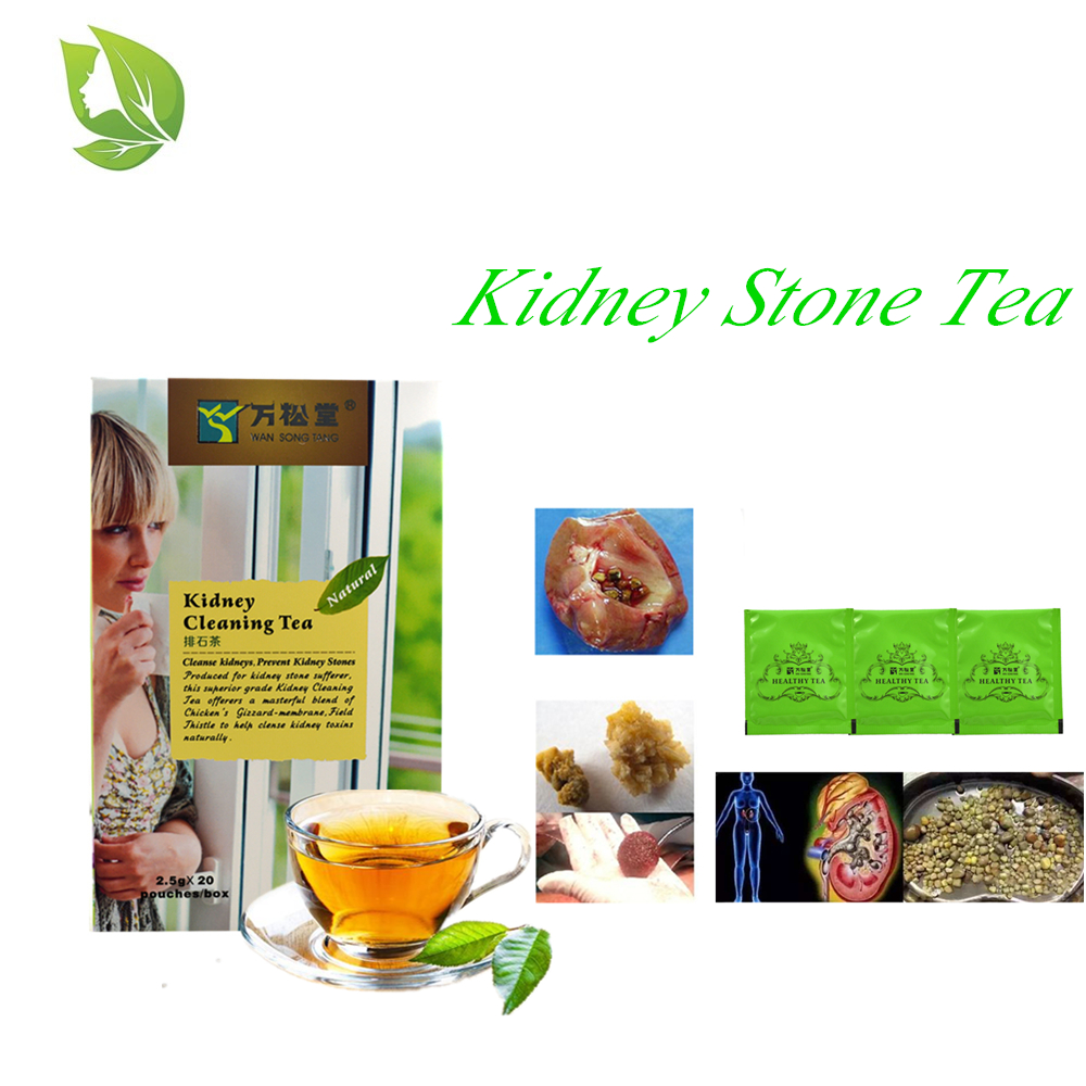 40 Pcs/2 Packs Kidney Stones Cleaning Tea Clean Kidney Toxin Diuretic Anti-inflammatory Pain Relief Natural Health Care Teabags