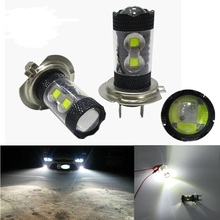 2pcs Super bright car H7 led 60W 12 SMD with Cree Chips Led  382 High Power auto fog light daytime running light DRL