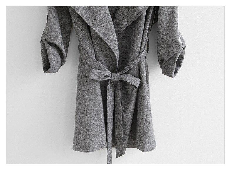 Hongmiao Bas as As Ceintures Vêtements Longue Vers Shown Belle Tranchée Outwear Le Tournent Tops Taille Shown Manteau Nouvelle La Plus Mode Hiver 2018 Automne TrqBTw