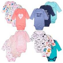 Newborn Baby Bodysuit Long Sleeve cotton Boys Girls Clothes For Girl Spring Fash