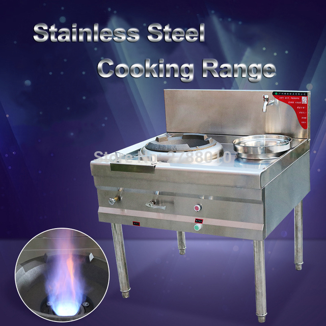 Commercial Cooktop  Single-cooker Cooking Range  Stainless Steel Range  Energy-saving Cooktop
