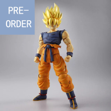 Presale August Dragon Ball Figure-rise Super Saiyan Son Goku Dragonball Z Model Kit (1/8 Scale)