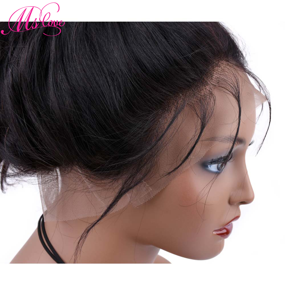 ff2d8aef150 360 Lace Frontal Wig Body Wave 150% Density Lace Front Human Hair ...