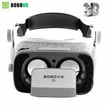 Orijinal bobovr Z5 VR Sanal Gerçeklik gözlükleri 120 FOV 3D Gözlük google Android smartphone Için Kulaklık ile Stereo Kutusu karton