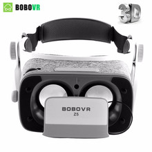 Original bobovr Z5 VR Virtual Reality goggles 120 FOV 3D Glasses google cardboard with Headset Stereo Box For Android smartphone