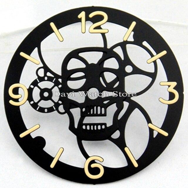 1 sztuk Parnis 38.9mm dial zegarek zestaw fit ETA 6497 ST36 mewa st36 ruch