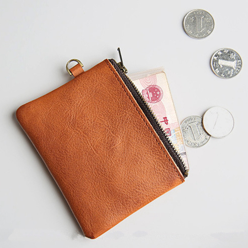 EACME Handmade Vintage Leather Bank Credit Card Holder Cowhide ...